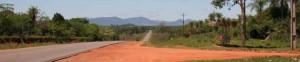 Blick Richtung Villarrica